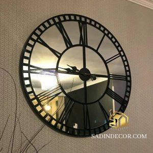ساعت دیواری آینه ای رومی رومیسا