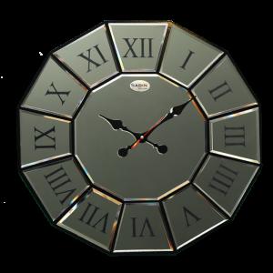 ساعت دیواری ونیزی نقره ای