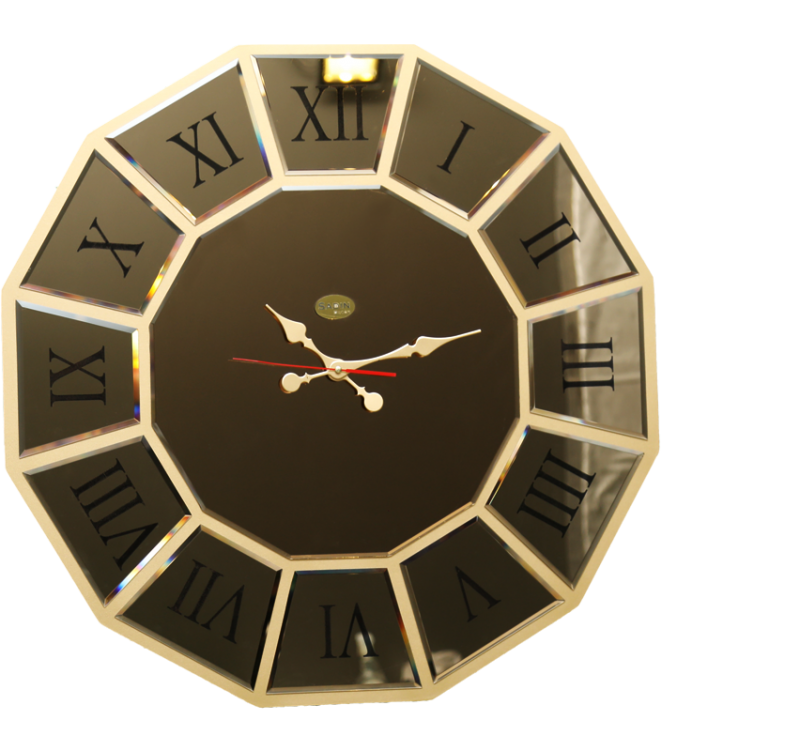 ساعت دیواری ونیزی برنز