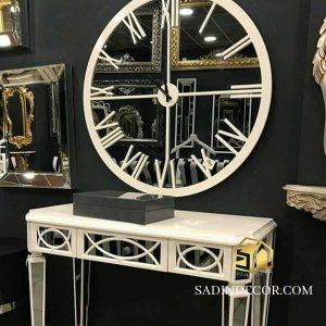 ساعت دیواری آینه ای مدرن ستیا