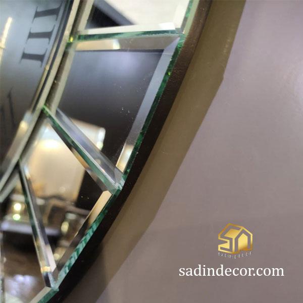 ساعت دیواری آینه ای سما