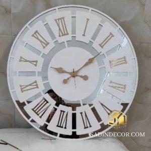 ساعت دیواری آینه ای بهار