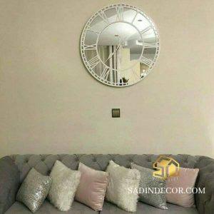 ساعت دیواری آینه ای رمیس